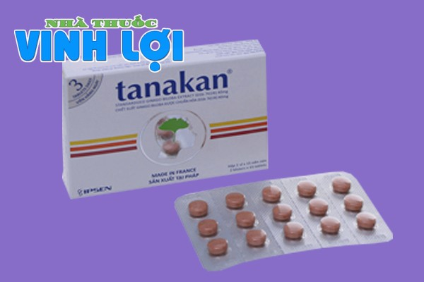 Hình ảnh thuốc hoạt huyết dưỡng não Tanakan của Pháp