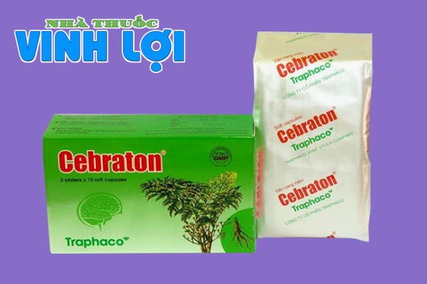 Hoạt huyết dưỡng não Cebraton có tác dụng phụ không?