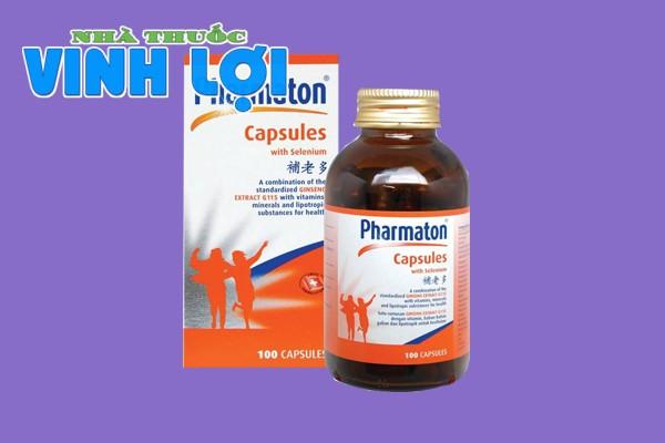 Thuốc bổ Pharmaton capsules
