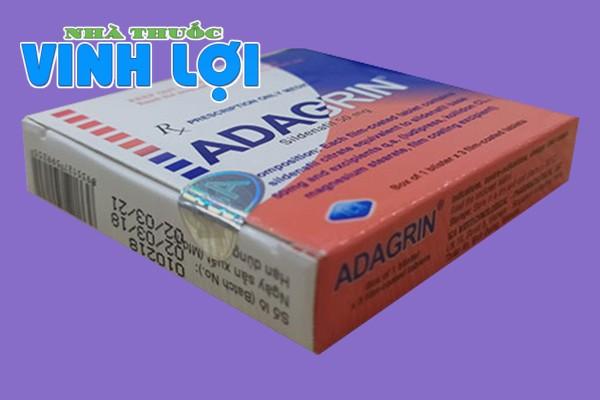 Hộp thuốc cường dương Adagrin