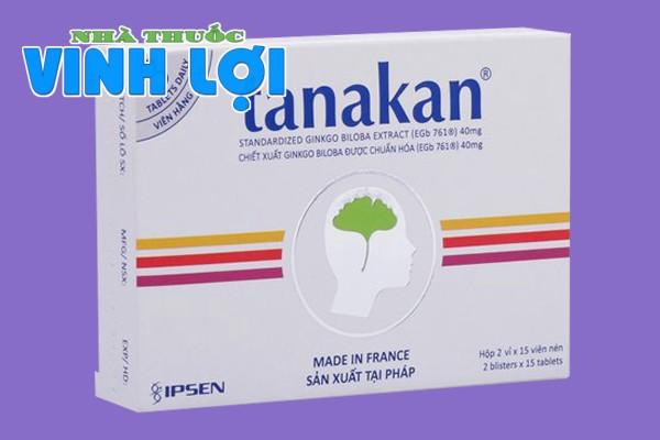 thuốc rối loạn tiền đình Tanakan 40mg