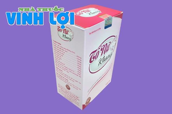 Hộp thực phẩm bảo vệ sức khỏe Tố Nữ Khang