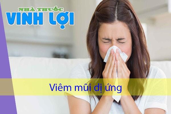 Công dụng của Destacure: điều trị viêm mũi dị ứng