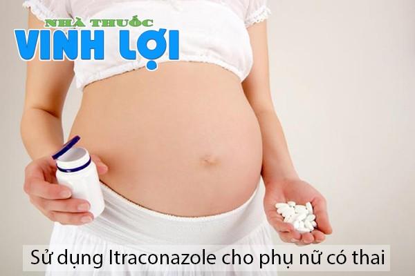 Dùng Itraconazole có ảnh hưởng đến thai nhi?
