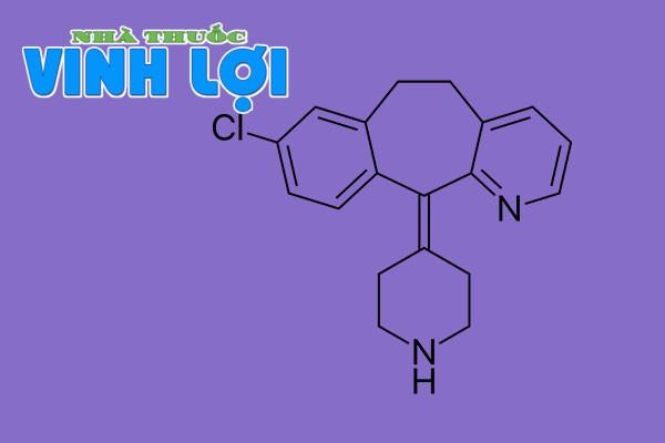 Thành phần của Destacure: Desloratadine