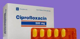 Thuốc Ciprofloxacin 500mg