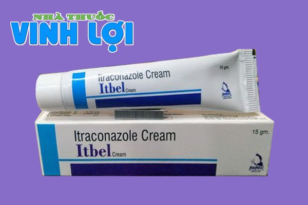 Itraconazole cream