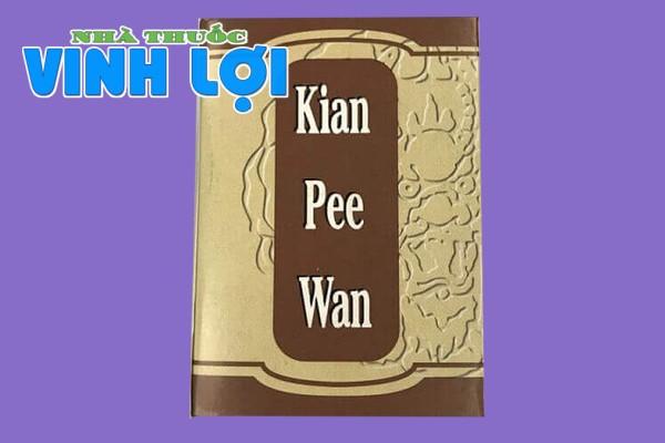 Kiện tỳ khai vị bổ hoàn Kian Pee Wan