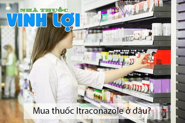 Mua thuốc Itraconazole ở đâu tại Hà Nội, TPHCM?