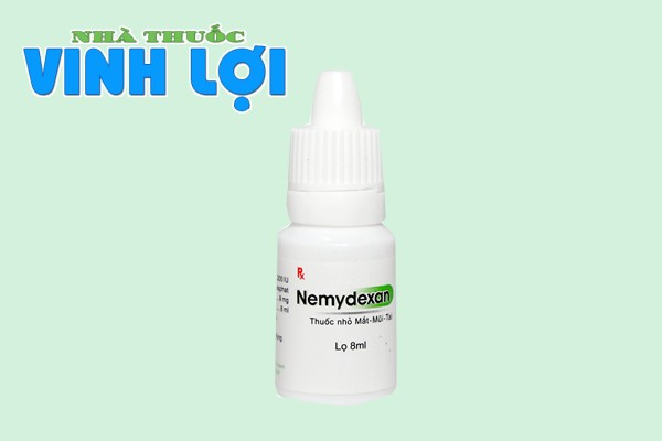 Thuốc nhỏ mắt mũi Nemydexan