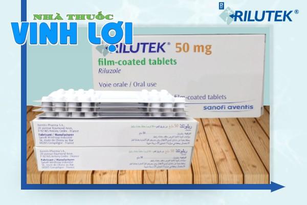 Cách sử dụng thuốc trị teo cơ Rilutek 50mg
