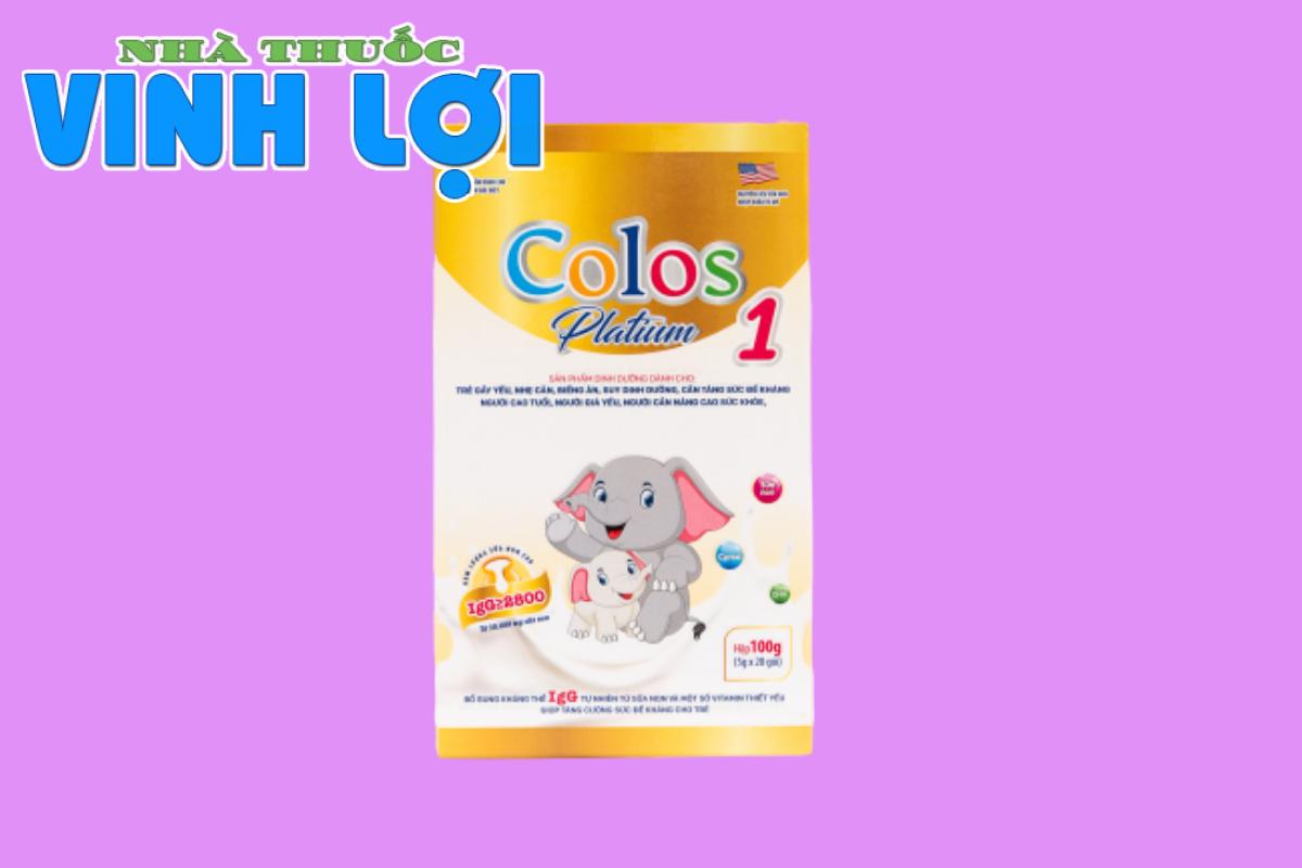 [THẢO LUẬN] Review của các mẹ về sữa non Colos Platium 1 nhập khẩu từ Mỹ