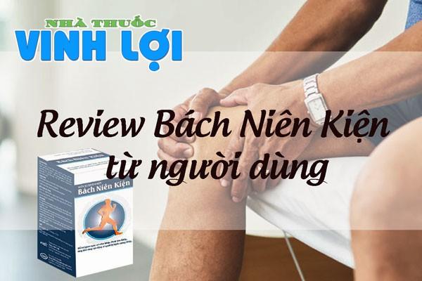Review sản phẩm Bách Niên Kiện từ người dùng
