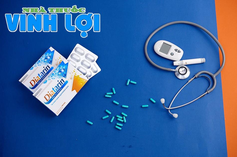 Diatarin là sản phẩm với công dụng hỗ trợ cho bệnh nhân đái tháo đường