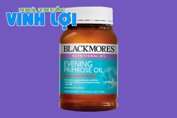 Viên uống tinh dầu hoa anh thảo Blackmores Evening Primrose Oil cân bằng nội tiết tố