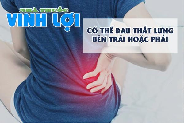Triệu chứng của bệnh đau thắt lưng cột sống