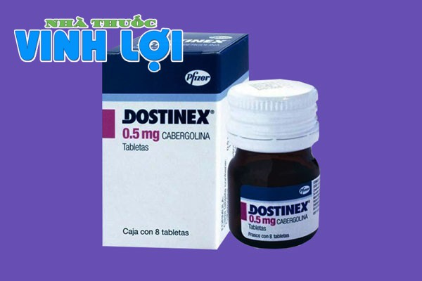 Thuốc Dostinex 0.5mg dùng trong bệnh lí gì?