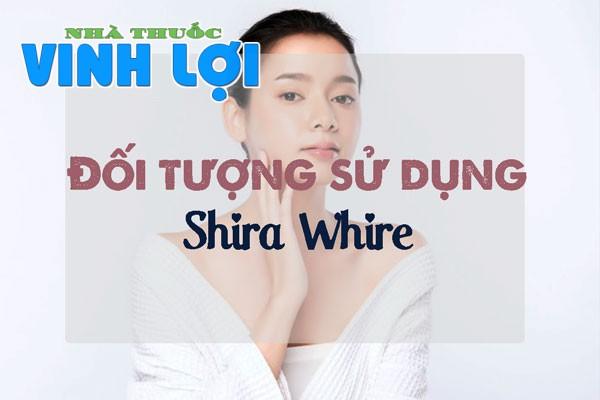 Những ai có thể sử dụng được Shira White?