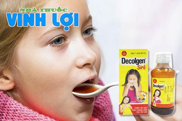 Cách dùng, liều dùng thuốc cảm cúm Decolgen