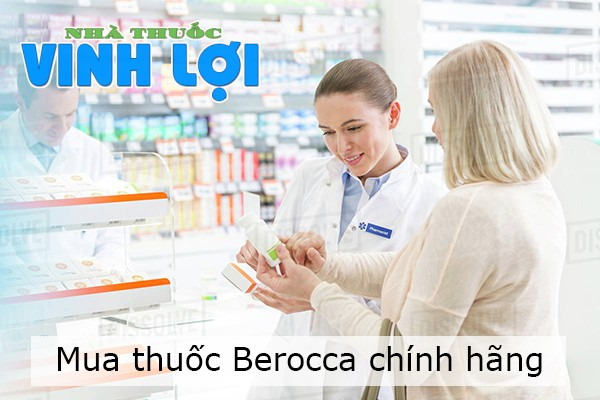 Mua thuốc Berocca ở đâu tại Hà Nội, TP.HCM?