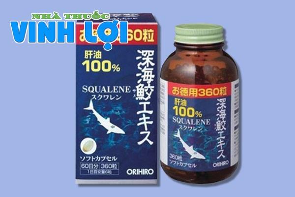 Viên uống Sụn vi cá mập Orihiro Squalene