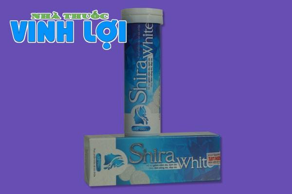 Shira White là một sản phẩm bảo vệ sức khỏe có tác dụng hỗ trợ làm đẹp da