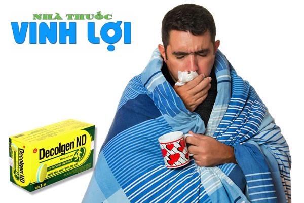 Công dụng của thuốc Decolgen