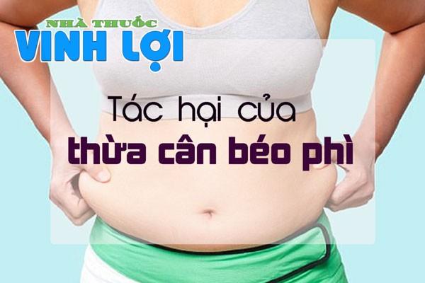 Thừa cân béo phì là vấn đề khiến các chị em phụ nữ phải đau đầu