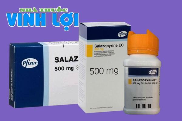 Thuốc chữa đau dạ dày Salazopyrine 500mg
