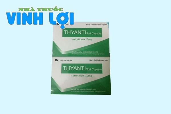 Tác dụng của Thyanti