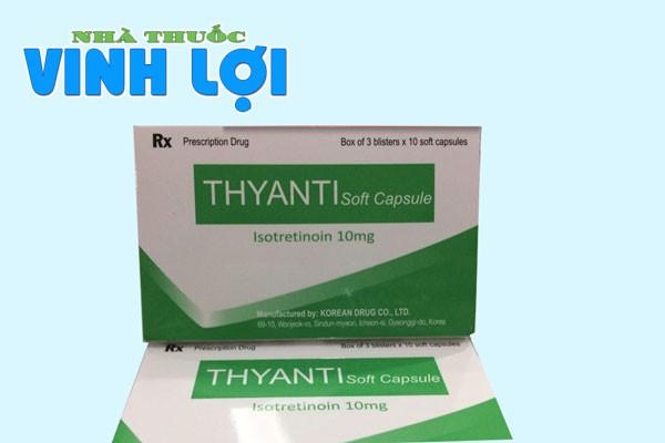 Tương tác thuốc của Thyanti