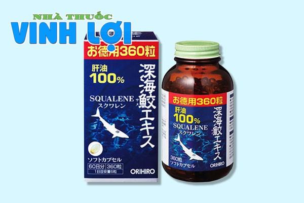 Sụn vi cá mập Orihiro Squalene của Nhật Bản