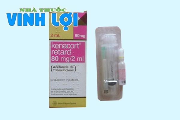 Chỉ định Kenacort 80mg/2ml