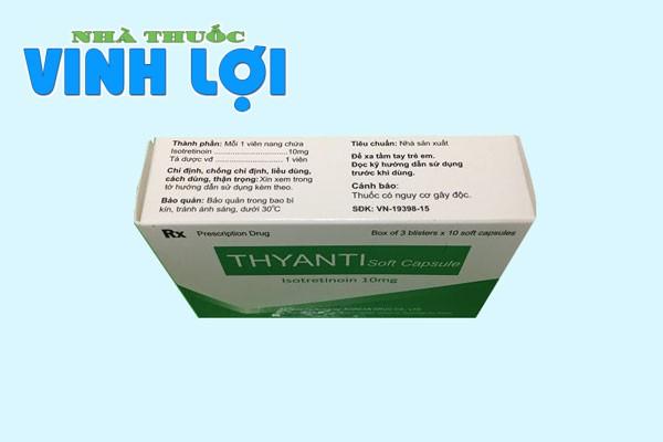 Thành phần của Thyanti