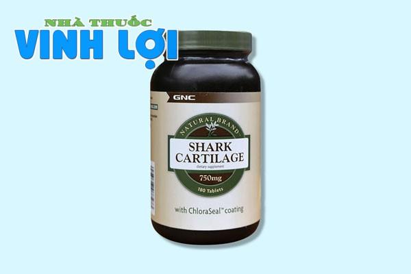 Sụn vi cá GNC Shark Cartilage 750mg của Mỹ