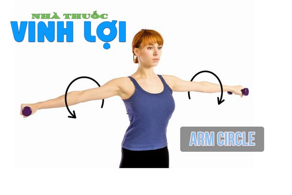 Bài tập Arm Circle cải thiện vòng 1