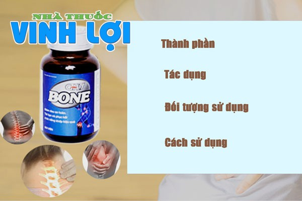 thuốc GHV BONE chữa xương khớp