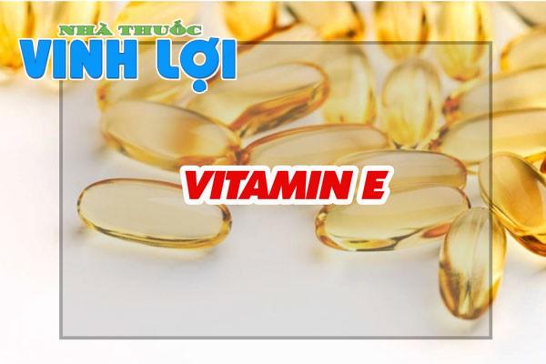 Vitamin E rất cần thiết cho sắc đẹp