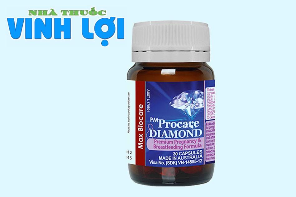 Viên uống tăng cường sức khỏe bà bầu Procare Diamond