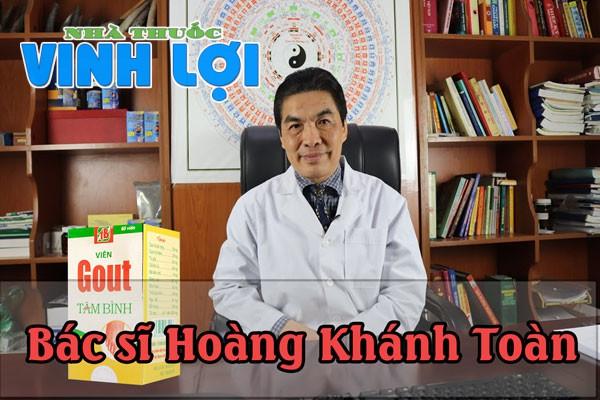 Ths. Bs. Hoàng Khánh Toàn - Chủ nhiệm khoa Đông y Bệnh viện 108