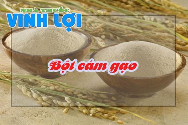 Bột cám gạo là một lớp màng mỏng bao bọc hạt gạo