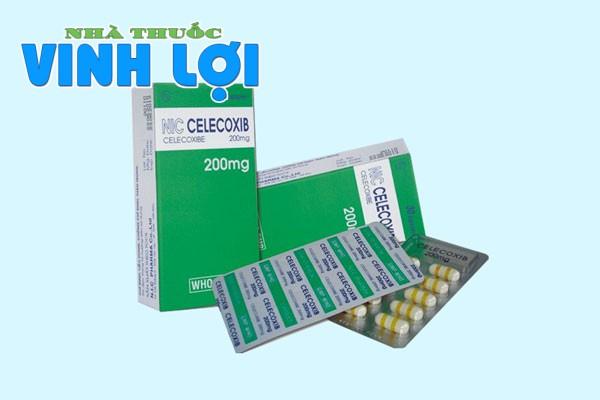 Celecobix 200mg tác dụng giảm đau