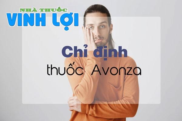 Chỉ định của thuốc Avonza