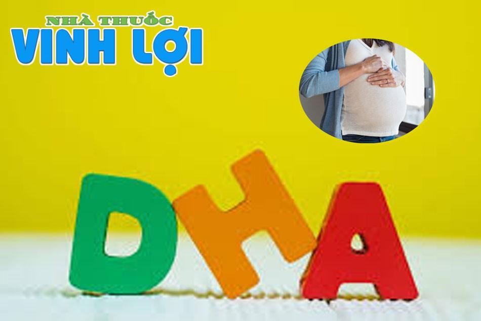 Thuốc cung cấp DHA cho bà bầu