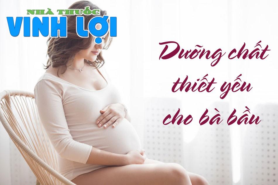 Dinh dưỡng cần cung cấp đầy đủ cho người mang bầu