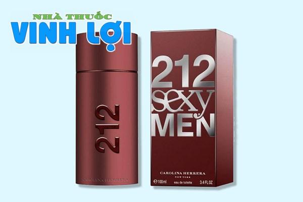 Nước hoa kích thích phụ nữ 212 Sexy Men