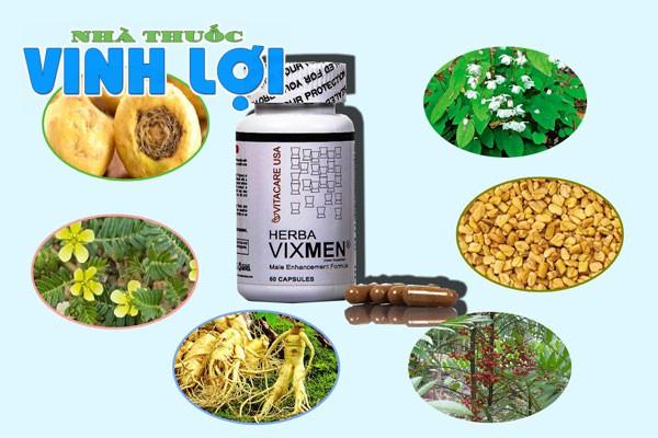 Herba Vixmen tăng cường khả năng sinh lý, cải thiện sức khỏe cho nam giới