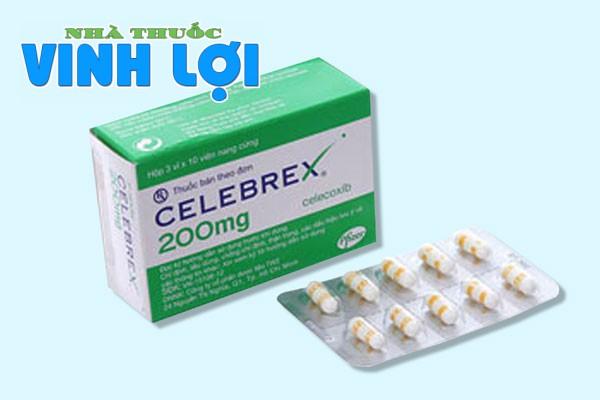 Thuốc Celebex có tác dụng phụ hay không?