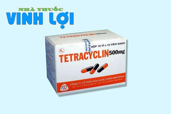 Tương tác thuốc Tetracylin