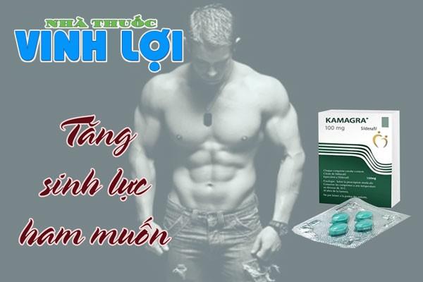 Kamagra là loại thuốc có công dụng tăng cường sinh lý và điều trị rối loạn cương dương